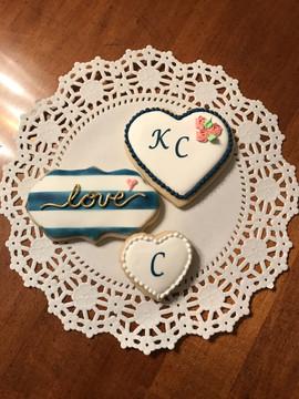 Custom Bridal Shower Sugar Cookies
