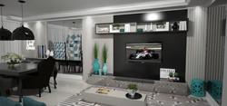 Sala de TV - Preta