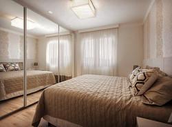 Dormitório com Armário e portas de corre
