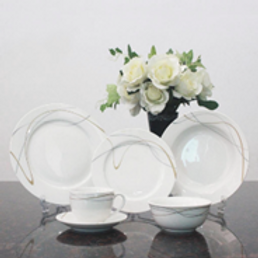 Dinner set  (Packing 6 Pcs/Set)