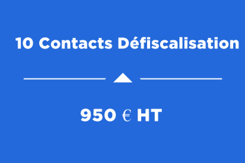 10 Contacts Défiscalisation