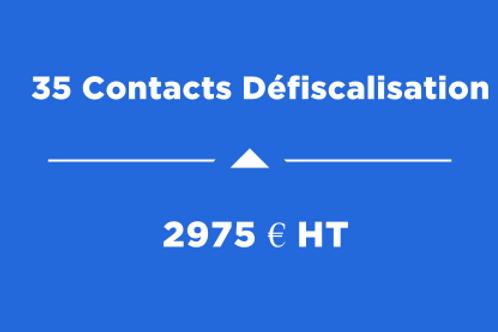35 Contacts Défiscalisation