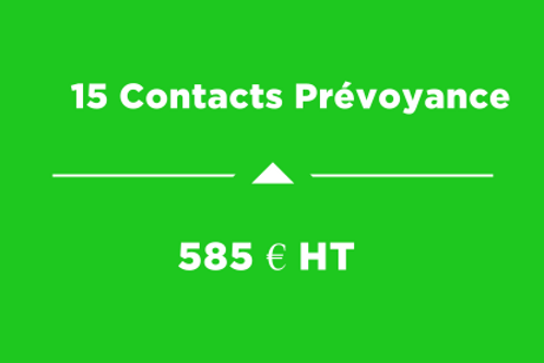 15 Contacts Prévoyance