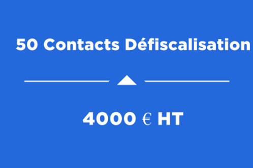 50 Contacts Défiscalisation