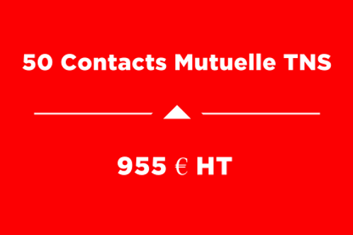 Forfait 50 Contacts Mutuelle TNS
