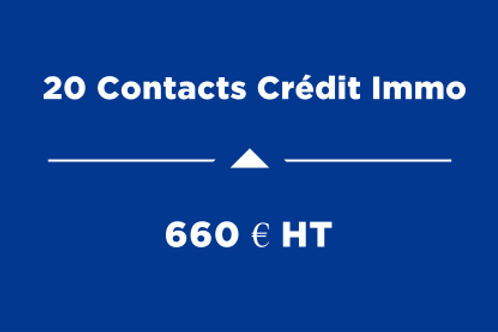 20 Contacts Crédit Immo