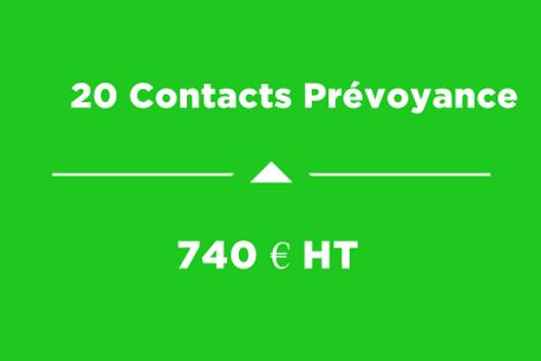 20 Contacts Prévoyance