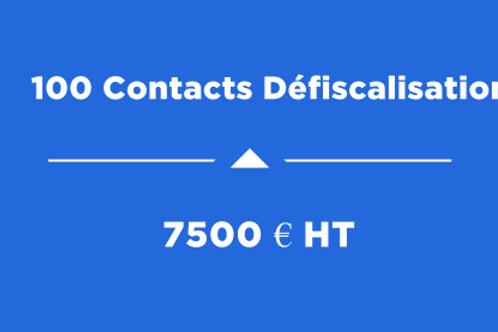 100 Contacts Défiscalisation