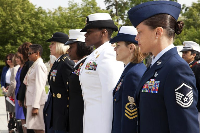 Honoring the military