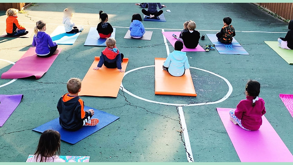 belly, back & bum yoga for kids