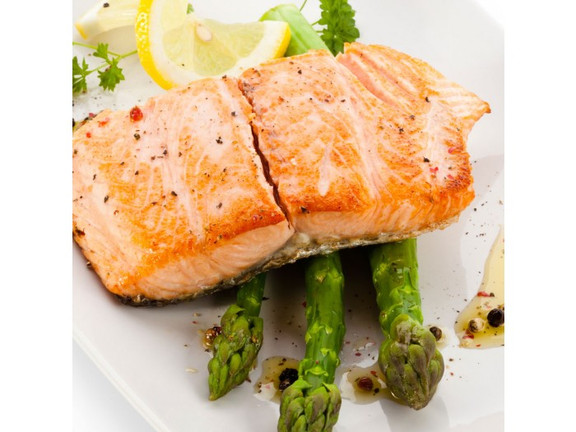Roasted Salmon and Asparagus