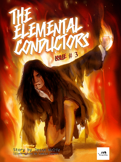 The Elemental Conductors  - Issue #3