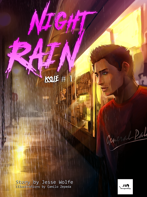 Night Rain - Issue #1