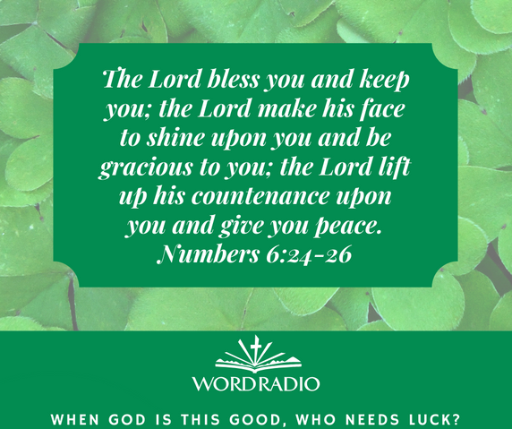 The Lord bless you and keep you; the Lor
