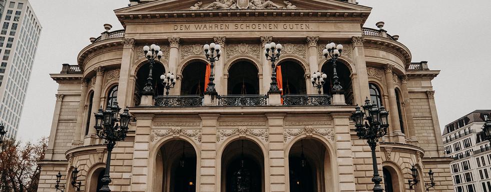 Alte Oper Brautpaar