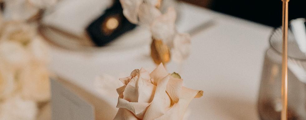 Detailaufnahme Modern Glam Wedding