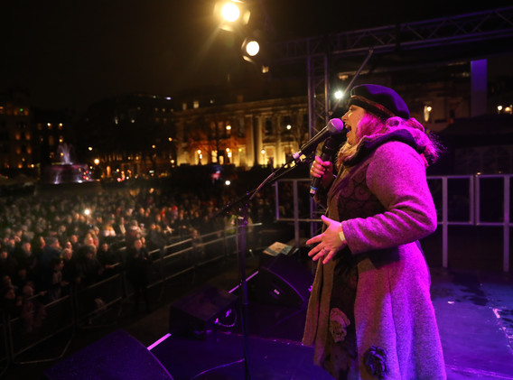 Chanukah in the Square 2018