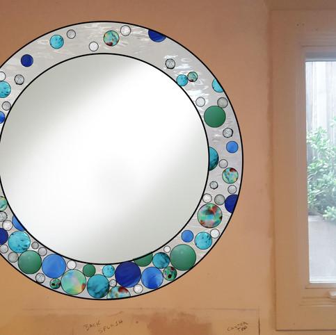Sketch #1, Bubbles Around Mirror