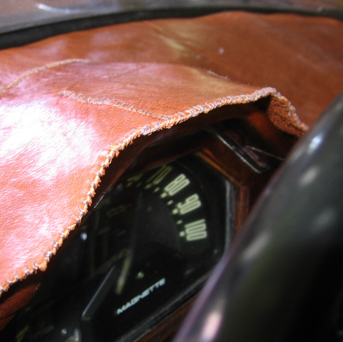 Hand-Stitched Leather Cover