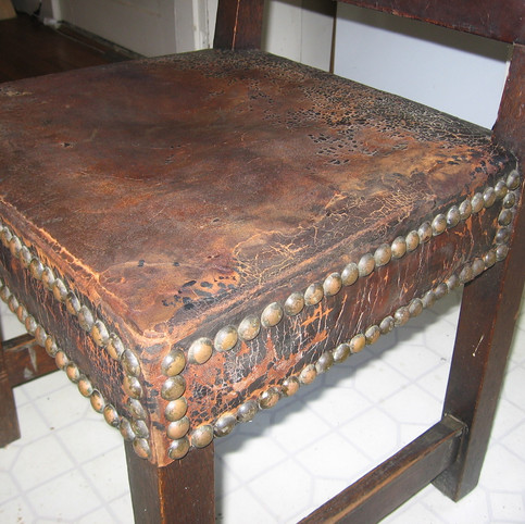 After/Stickley Leather Repair
