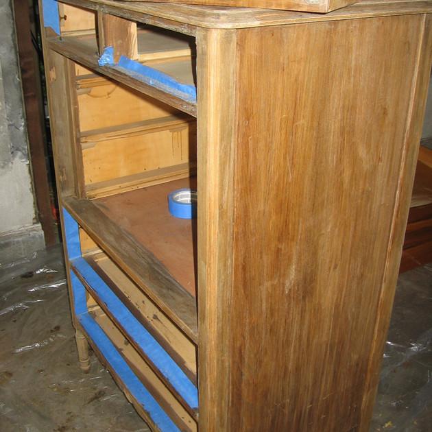 Before/Old Dresser Found on Street