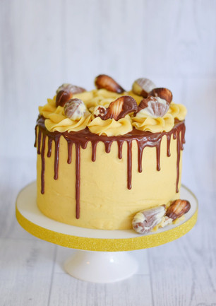 Salted Caramel and Chocolate Drip Cake