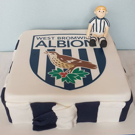 Albion Cake with hand modeled supporter