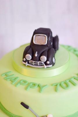 Handmade Fondant Car Topper
