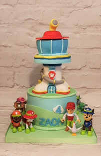 Paw Patrol Lookout Cake