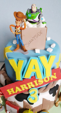 Toy Story Inspired Birthday Cake