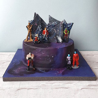Guardians Space Cake