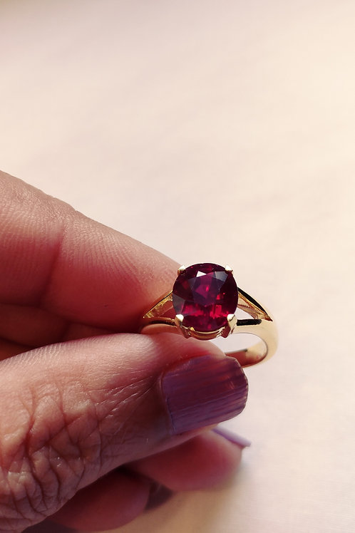 Beautiful African Ruby Ring