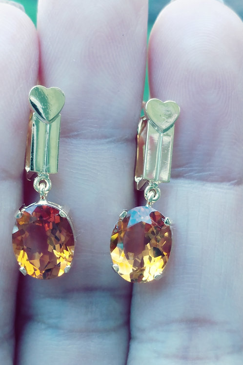 Beautiful Citrine Earrings