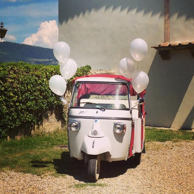 White wedding baloon!