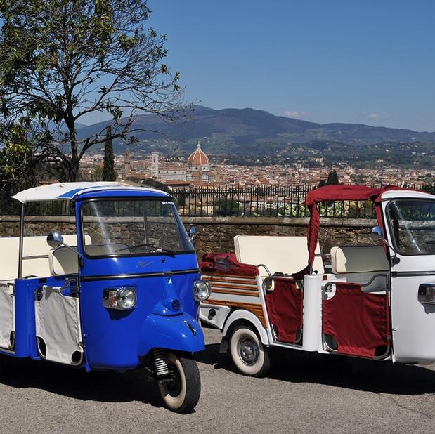 Tuk Tuk and the Duomo , Firenze