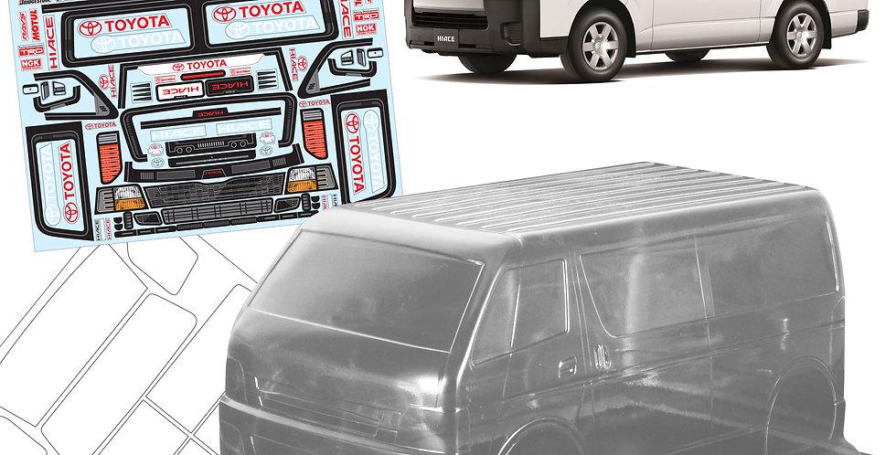 TM112 1/10 Toyota Hiace Van