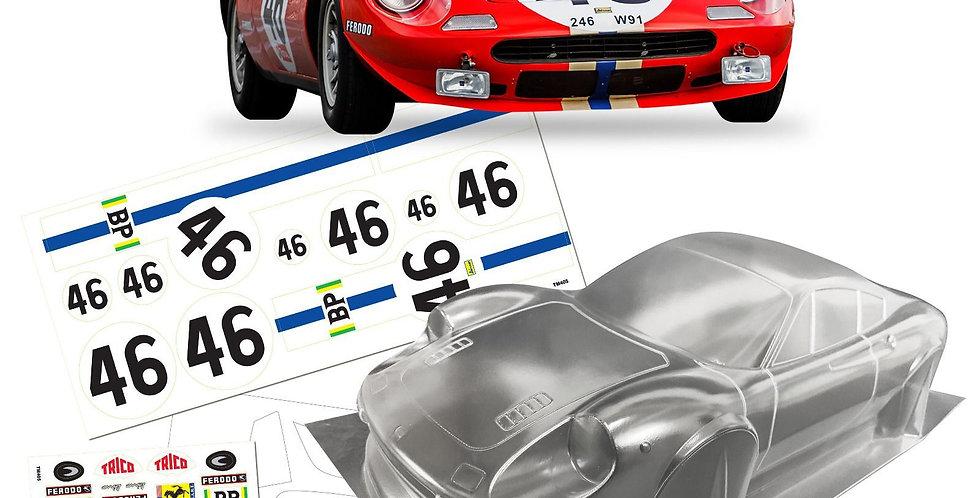 TM246 1/10 Mini Ferrari Dino 246GT