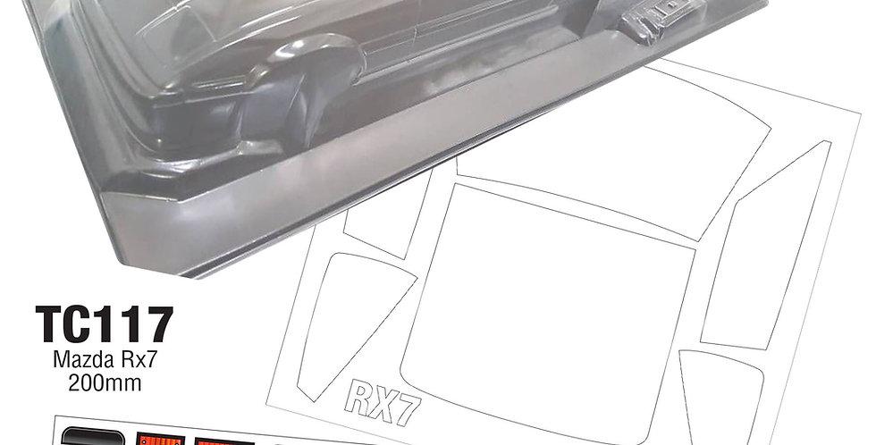 TC117 1/10 Mazda RX7