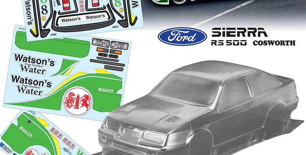 TC150 1/10 Ford Sierra RS500