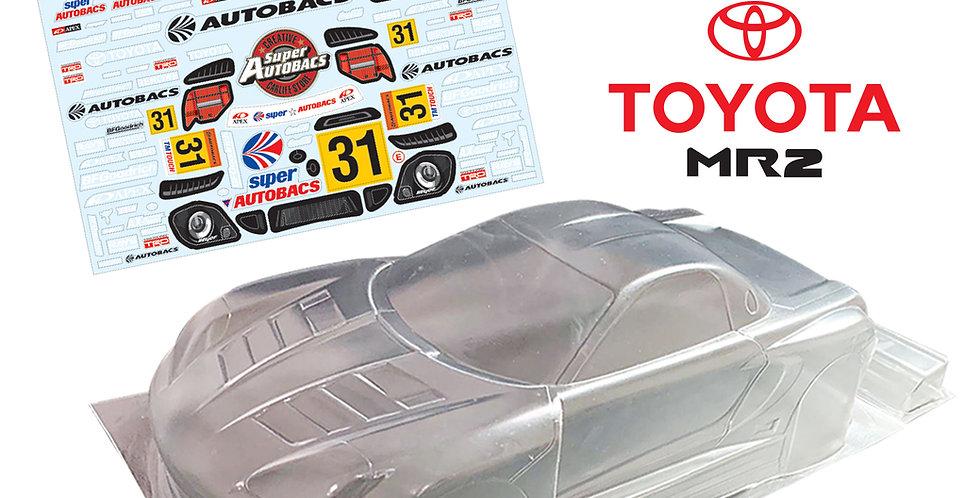TM102 1/10 Mini Toyota MR2