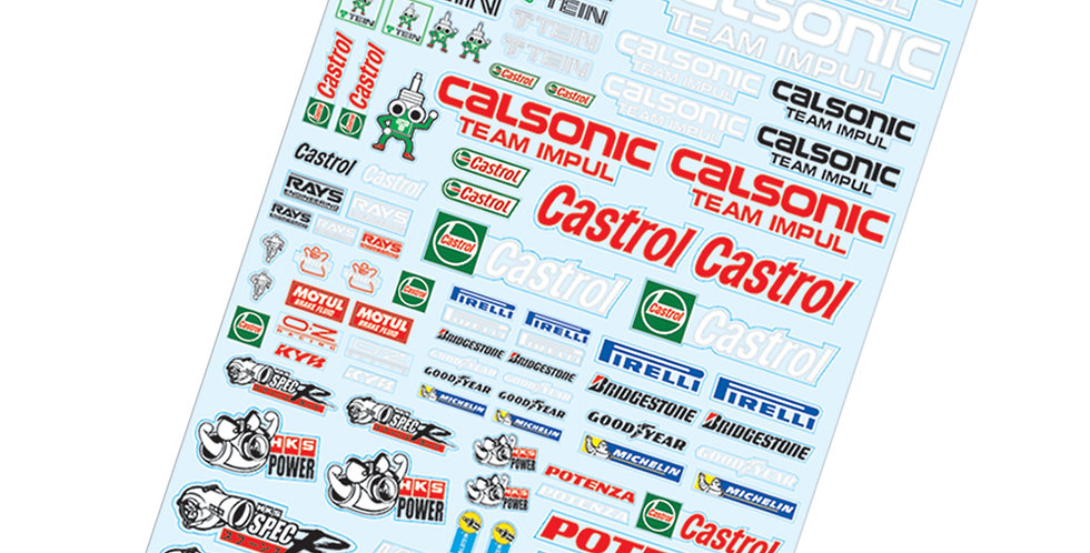 TC905 1/10 Calsonis Sticker, A4