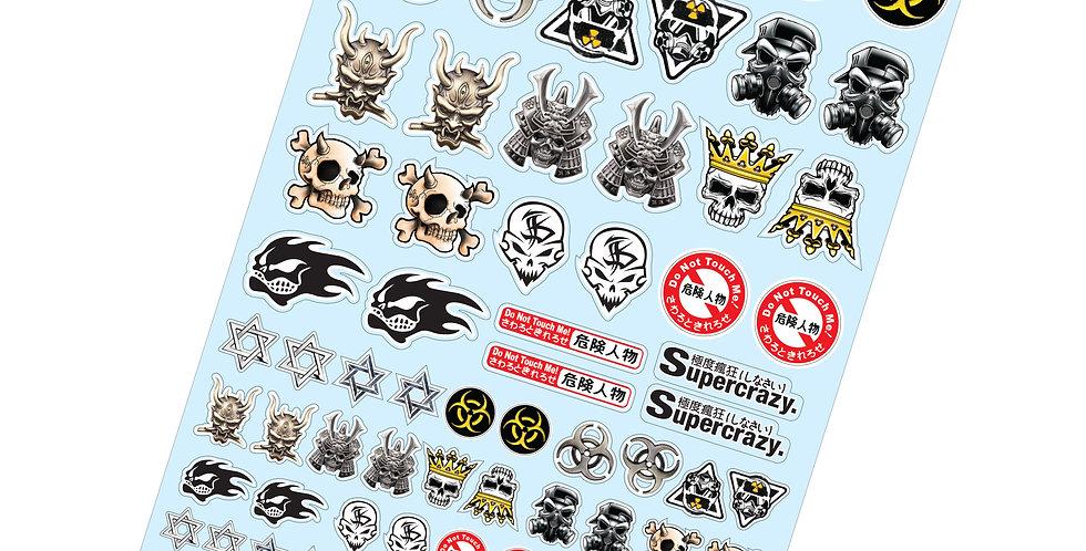 TC916 1/10 A4 Sticker