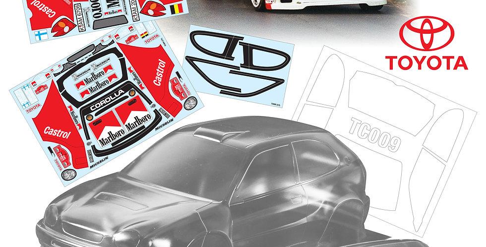 TC009 1/10 Toyota Corolla WRC (190mm)