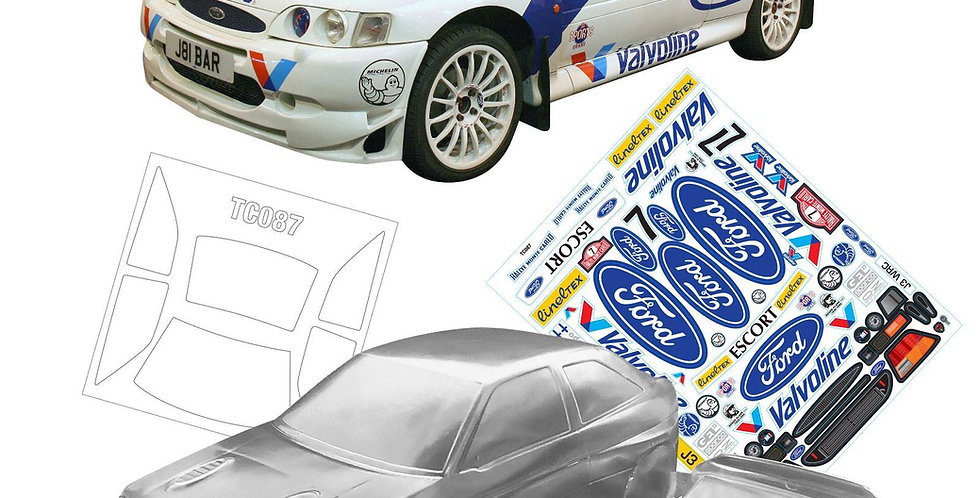 TC087 1/10 Ford Escort Cosworth
