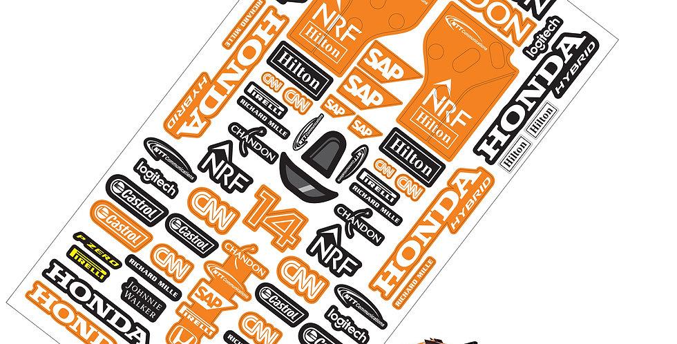 F1 Sticker McLaren MCL32