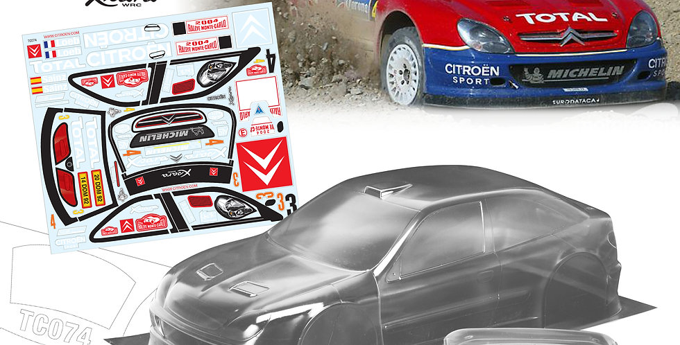 TC074 1/10 Citroen WRC