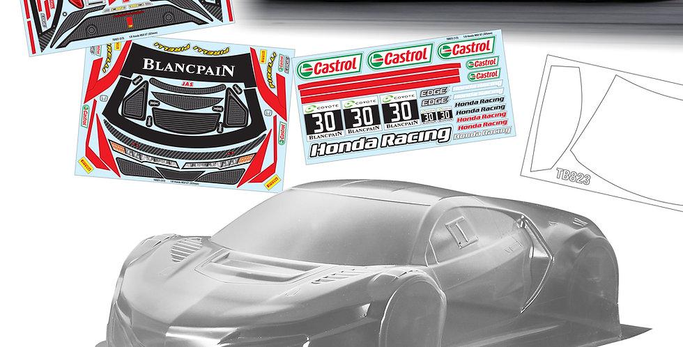 TB823 Honda NSX GT (325mm)