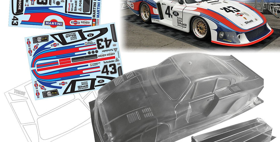 TC935 1/10 Porsche 935