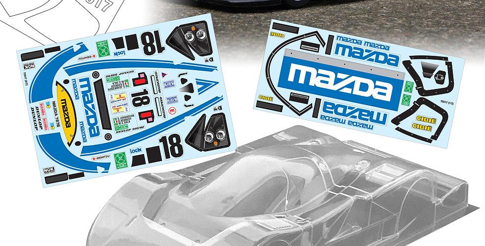 TC017 1/10 Mazda 787B