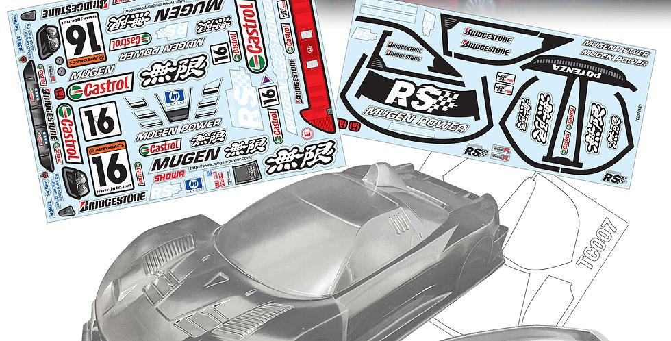TC007 1/10 NSX GT500